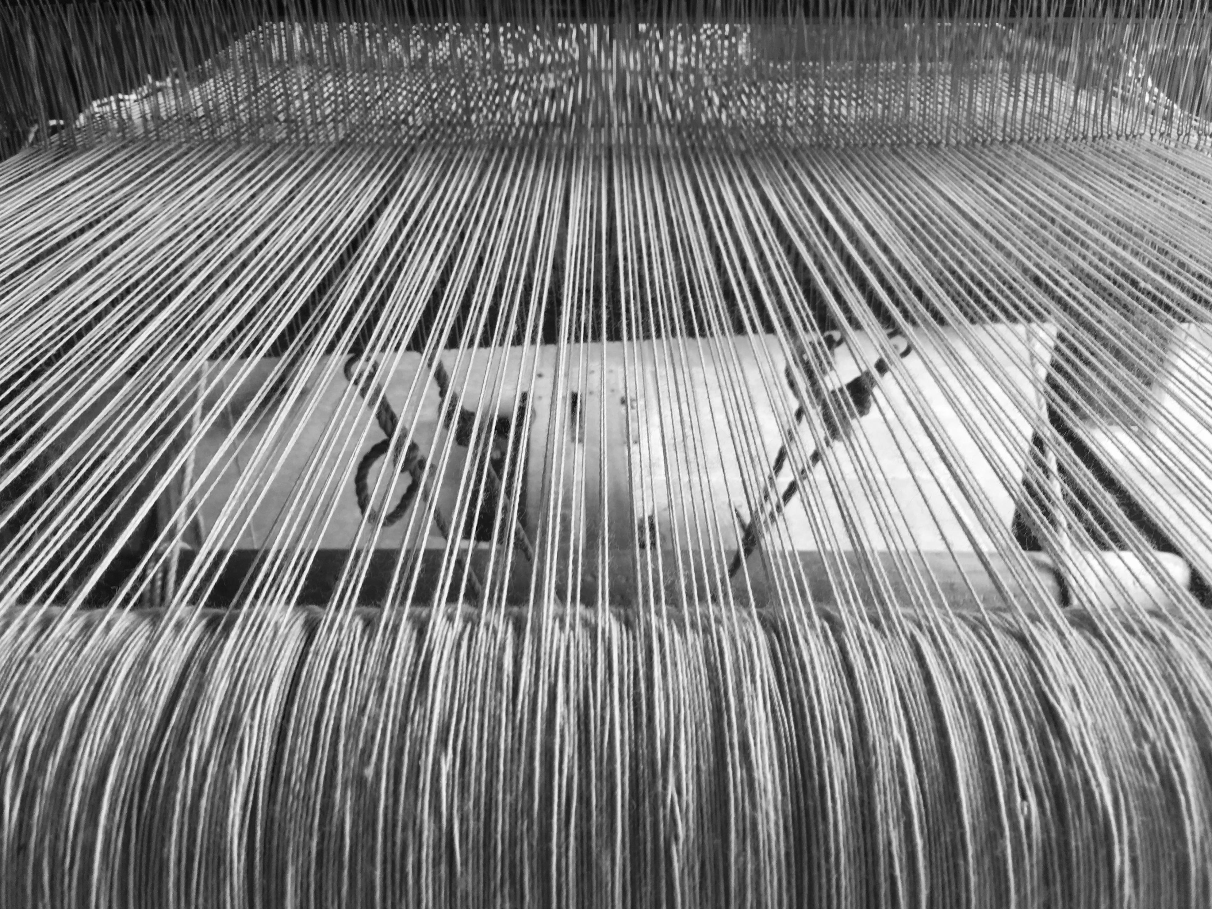 Métier à tisser pour tapis mexicains