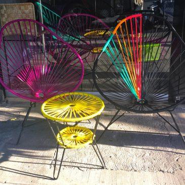 """Las sillas """"Acapulco"""": ¡un estilo tropical para tu casa!"""