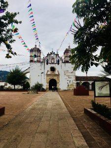 église du village de Teotitlan del Valle