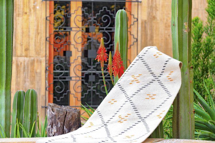 tapis berbère artisanal