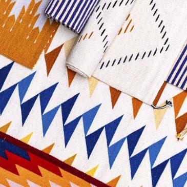 tapis en laine Sancho Poncho