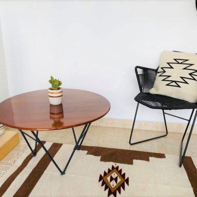 tapis style mexicain 80 x 150 cm