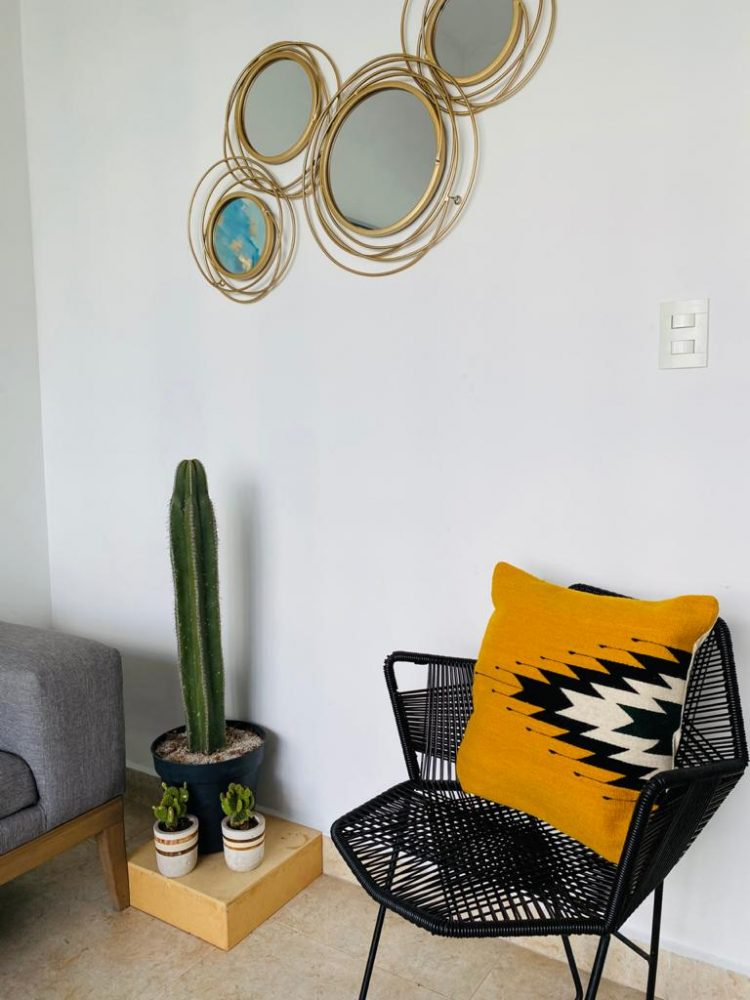 coussin style mexicain