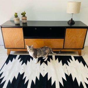 tapis mexicain en laine 80 x 150 cm