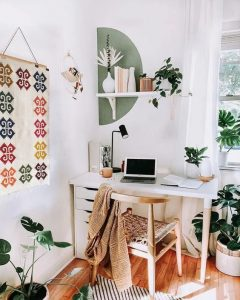 tapis caracol au mur