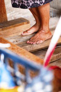 métier à tisser à pédale utilisé au mexique